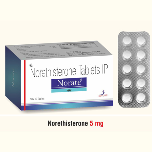 Norethisterone tablets ip 5mg